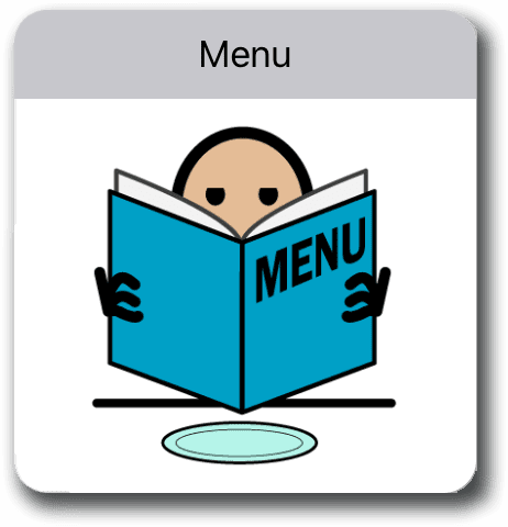 menu symbol.symbolstix